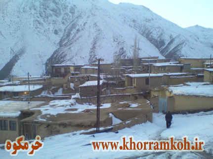 زمستان 89 روستای خرمکوه -گیلان